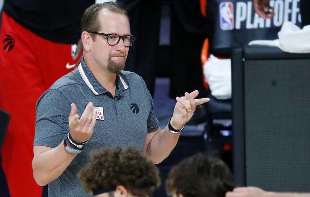Prolongation de contrat accordée à l'entraîneur-chef des Raptors Nick Nurse