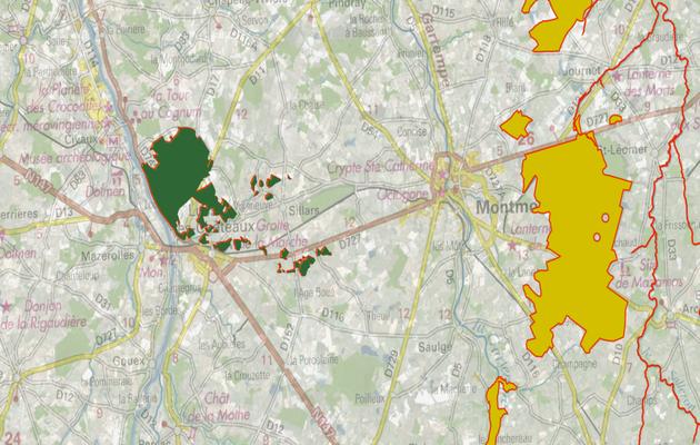 Les forêt et pelouses de Lussac les Châteaux recensé et protégé par le réseau Natura 2000