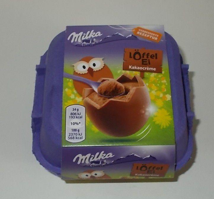 Milka Löffel Ei Kakaocreme