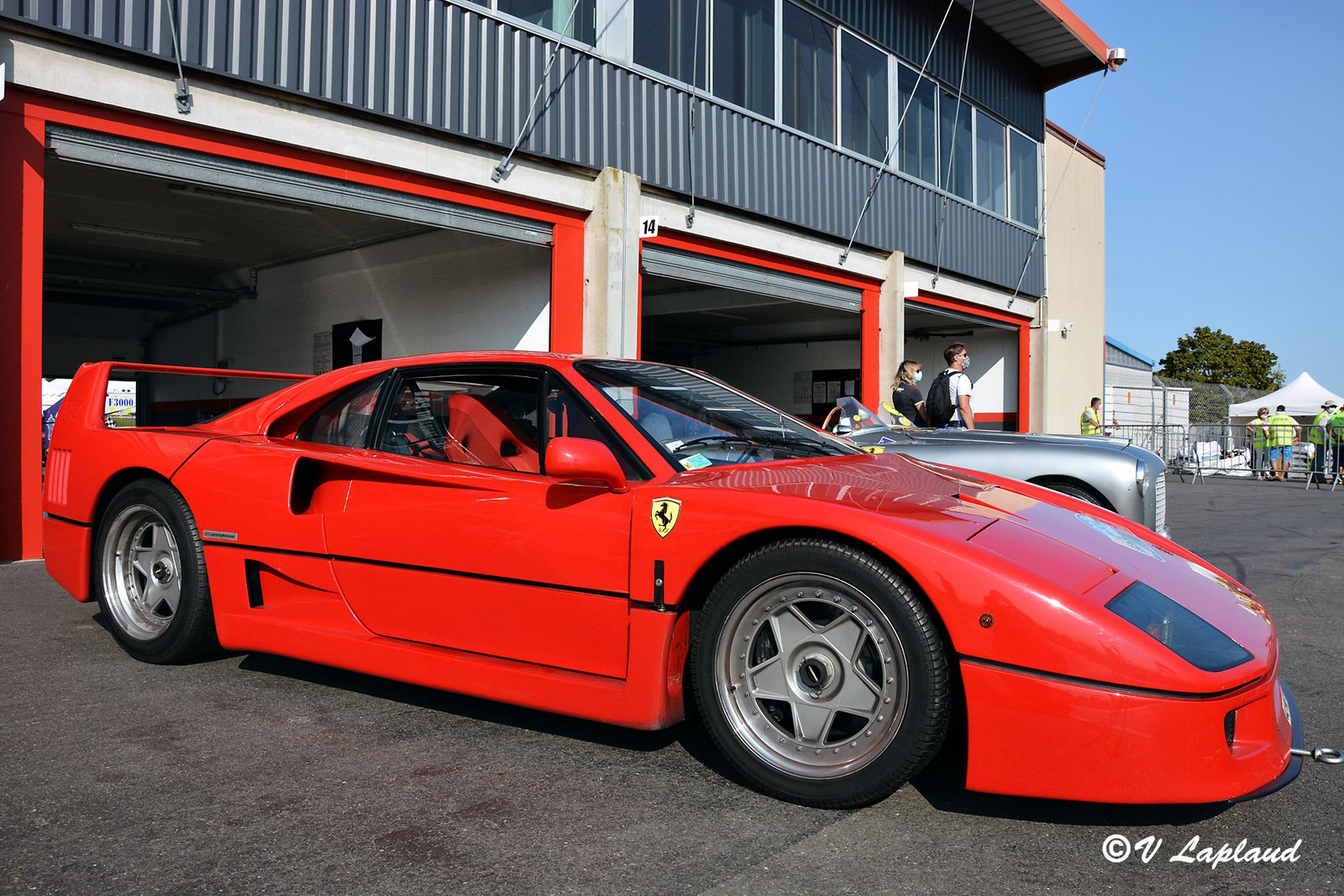 Ferrari F40, Le Vigeant 2020, 26eme Sport et Collection.