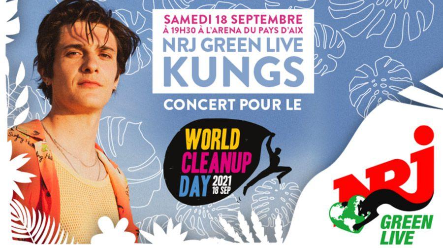 Kungs Le DJ Kungs invité du premier concert NRJ Green Live