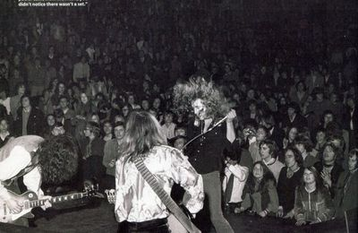 Peter Whitehead filme Led Zeppelin live au Royal Albert Hall (1970)