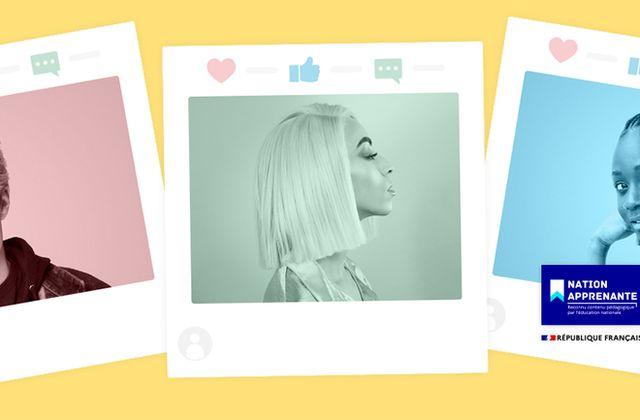 « Ma vie de profil », une web-série sur le thème de l'identité numérique, à destination des collégiens.