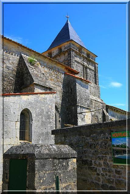 Diaporama église fortifiée de Clion sur Seugne
