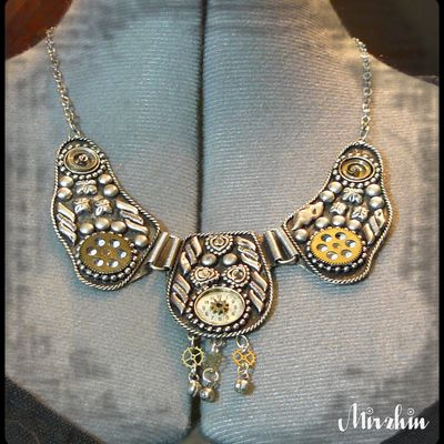 collier tribal steampunk