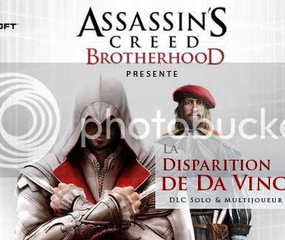 [ACHAT] DLC Assassin's Creed Brotherhood: La disparition de Da Vinci