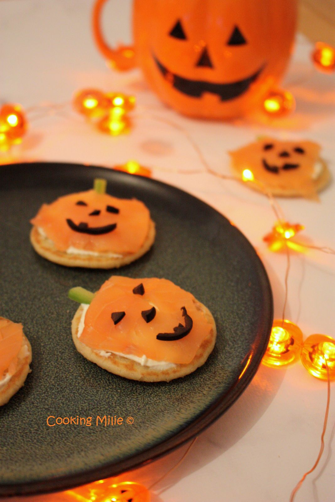 Halloween # 35 - Express Pumpkin Blinis