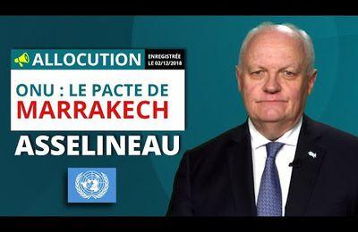 ONU : Le Pacte de Marrakech - François Asselineau (Vidéo)