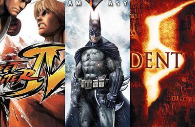 Top jeux PC 2009 : Street Fighter 4 / Batman Arkham Asylum / Resident Evil 5