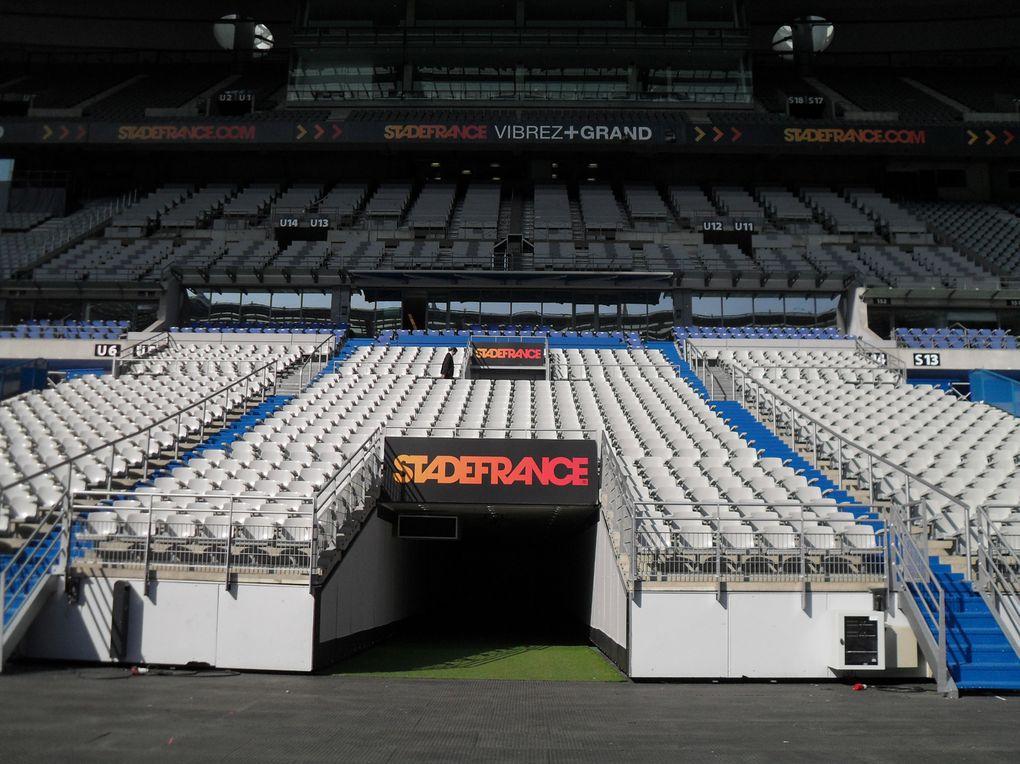 Visite Stade de France ; port aux cerises ; expo Georges Brassens - cité de la musique ; Grand rex ;