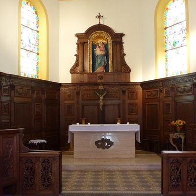 Les boiseries de l'église d'Agincourt