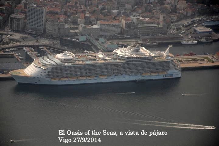 Galeria fotos El Oasis of the Seas, a vista de pájaro