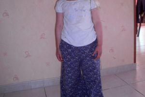 Pantalon Fleuris