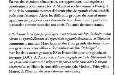 La Gazette des Yvelines. Ces oppositions municipales qui se coordonnent