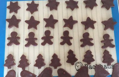 Recette de sablés de Noel ou pour les gouters