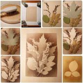 Creative Ideas - DIY Stunning Leaf Painting Using Toothbrush -...