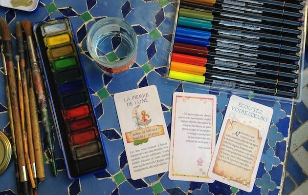 Monday July 23rd Art Workshop : Cafe Art Journaling