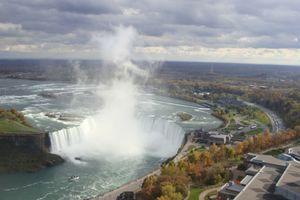 Les chutes du Niagara et son marathon