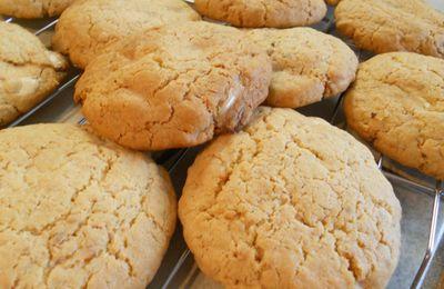 Cookies pralin et chocolat blanc