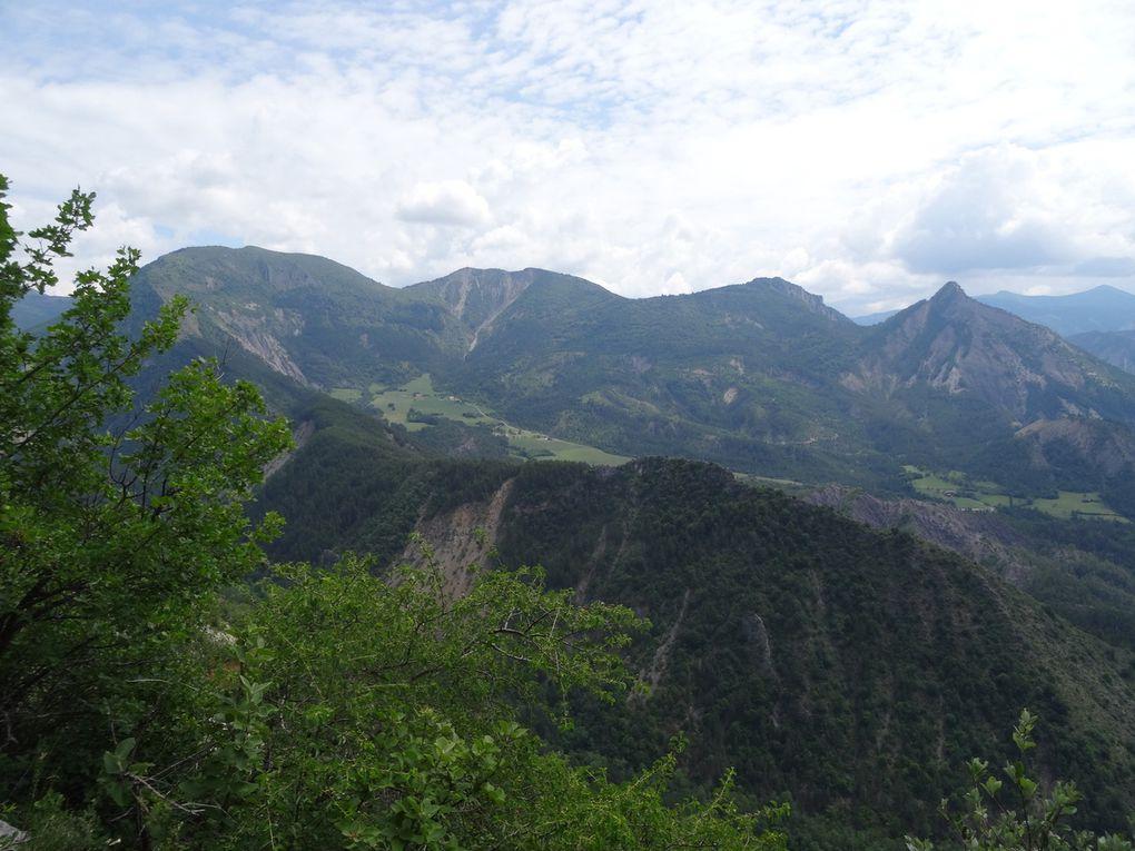 Week-end VTT dans les Hautes Terres de Provence (24/06/2018) à La Motte-du-Caire (04)