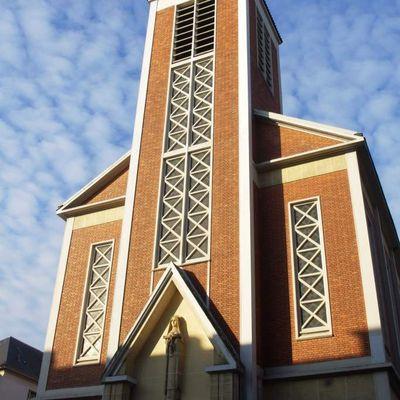 L'église art déco Sainte Thérèse de l'Enfant Jésus à Boulogne-Billancourt, Hauts-de-Seine