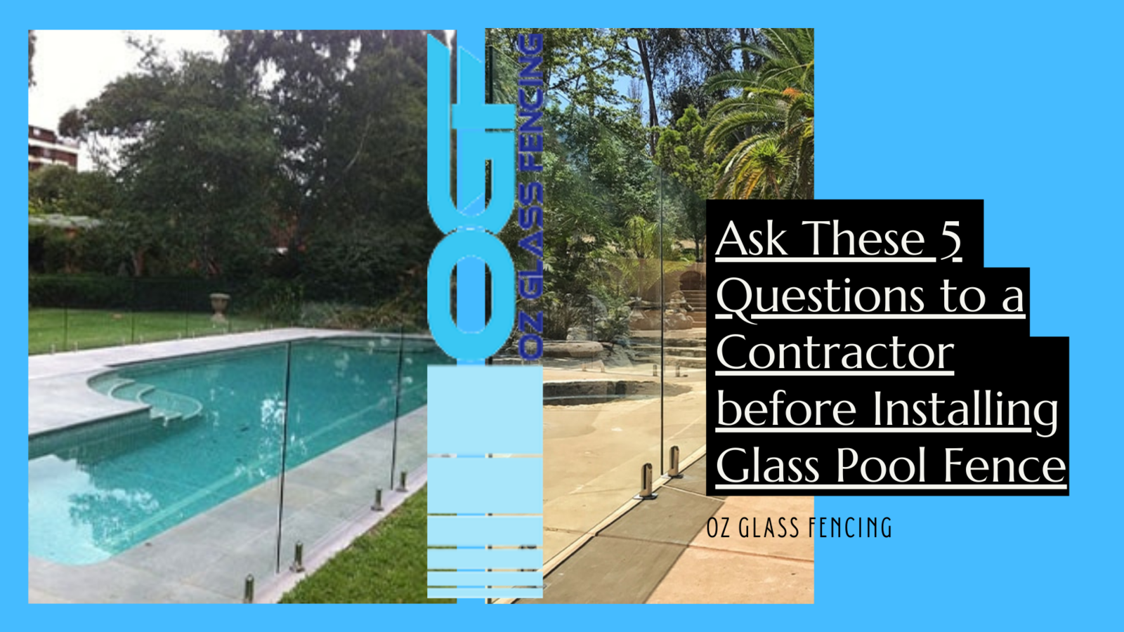 Installing Glass Pool Fence