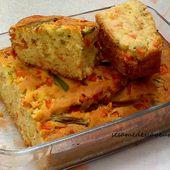 Cake salé aux légumes - Le Sésame Des Saveurs