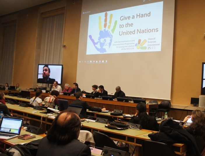 Intervention de Francis MBELLA à la Conférence annuelle internationale - OSI GENEVA FORUM, 12 - 16 Décembre 2016, PALAIS DES NATIONS UNIES - GENEVE