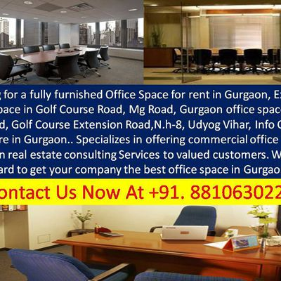 9821231006 || Commercial Office Space For Rent In Gurgaon