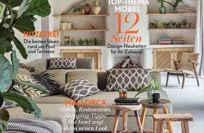 """Article dans le magazine Allemand """" Déco Home"""""""