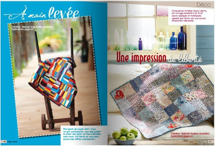 Patchwork y fieltro