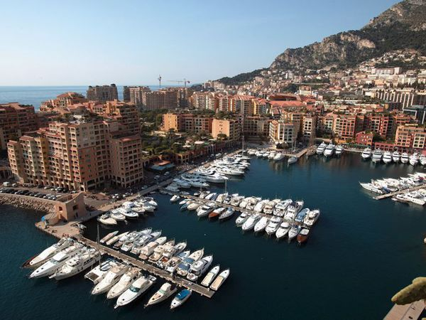 Monaco, le port de Fontvieille - photo 1 : SEPM - autres photos : ActuNautique