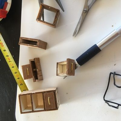 DIY la maquette se poursuit