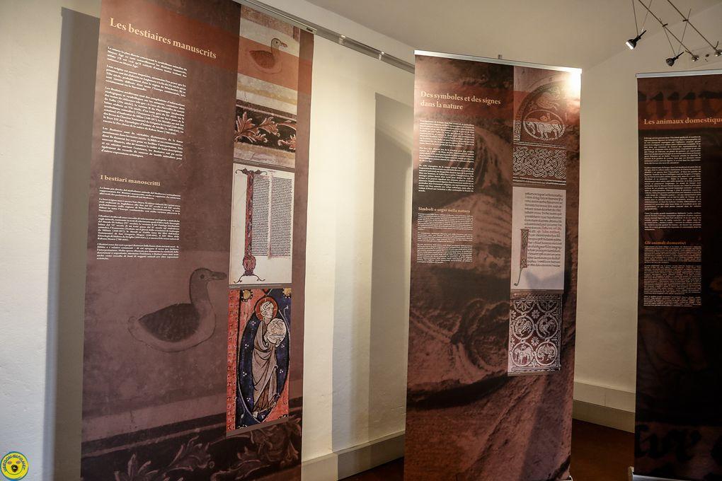 """Castellane inauguration de l'exposition """" biestiaire dans l'art médiéval en provence"""""""