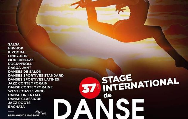 Stage international de danse de Pontarlier du 3 au 9 Août 2019