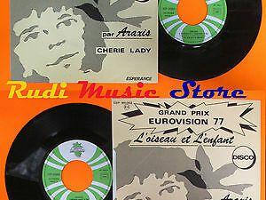"""araxis, un chanteur improbable français pour la reprise de ce grand standard de la chanson française """"l'oiseau et l'enfant"""" prix de l'eurovision en 1977"""