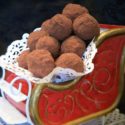 CHOCOLATS DE NOEL : LES VERITABLES TRUFFES DE CONFISEUR