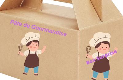 BOX DECOUVERTE  SUCREE* EXCLUSIVITE PÂTE DE GOURMANDISE