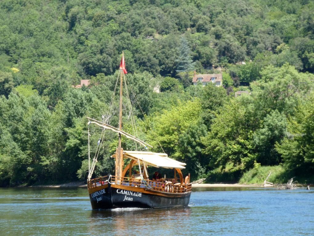 Caminade Jean , vedette pour une visite sur la Dordogne  au départ de La Roque Gagéac le 15 juin  et 23 juin 2020