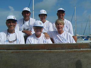 Souvenir, souvenir : l'équipage de la course Refeno (Recife-Fernando de Noronha) 2010