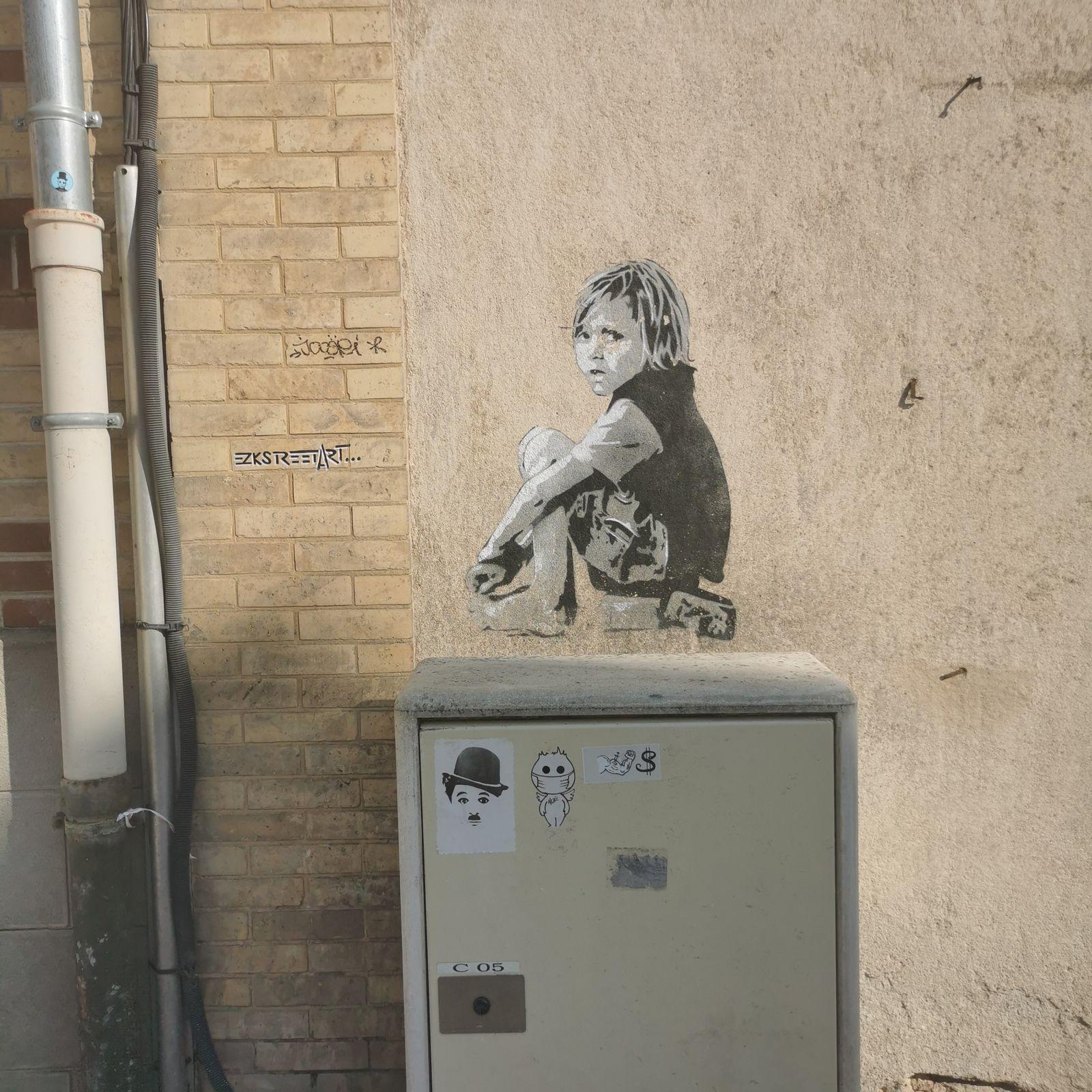 Street art à Chartres