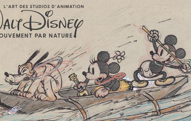 {Exposition} « L'Art des studios d'Animation Walt Disney – Le Mouvement par Nature ».