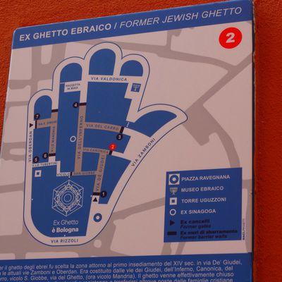 Le Ghetto Ebraico, l'ancien quartier juif de Bologne