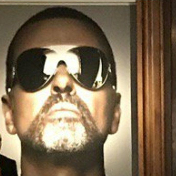 GEORGE MICHAEL CHRISTIES * CLAUDIE TRES EMUE A LONDRES *