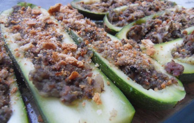 courgettes farcies light