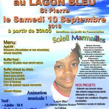DINER DANSANT le 10 septembre 2016 au Lagon Bleu