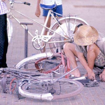 Phnom Penh 1970-75 : petits métiers