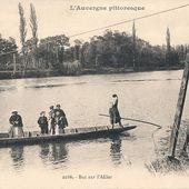 Les Bacs à Auzon - L'Auvergne Vue par Papou Poustache
