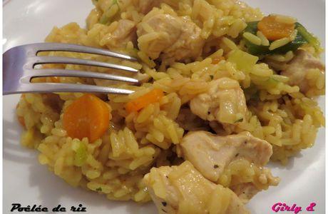 Poêlée de riz épicée aux légumes