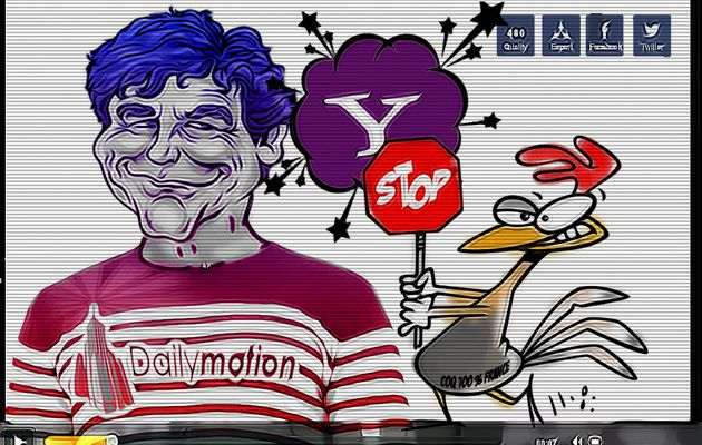 "Dailymotion, ""merde in France"" ?"
